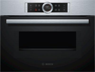 Lò Nướng Kèm Vi Sóng Bosch CMG633BS1, lò nướng, lo nuong, lò nướng Bosch, lò nướng âm tủ, lò nướng âm tủ giá rẻ tại Hà Nội, lò nướng kèm vi sóng, lò nướng âm tủ giá rẻ, lò nướng âm tủ nhập khẩu
