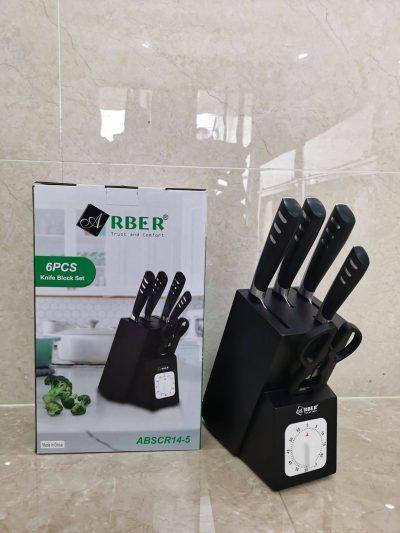 Bộ Dao Arber Happy ABSCR14-5, đồ gia dụng, do gia dung, đồ gia dụng nhập khẩu, đồ gia dụng chính hãng, đồ gia dụng giá rẻ, đồ gia dụng giá rẻ tphcm, thiết bị nhà bếp, thiết bị nhà bếp nhập khẩu