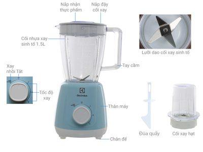 Máy Xay Sinh Tố Electrolux EBR3416, đồ gia dụng, do gia dung, đồ gia dụng nhập khẩu, đồ gia dụng chính hãng, đồ gia dụng giá rẻ, đồ gia dụng giá rẻ tphcm, thiết bị nhà bếp, thiết bị nhà bếp nhập khẩu