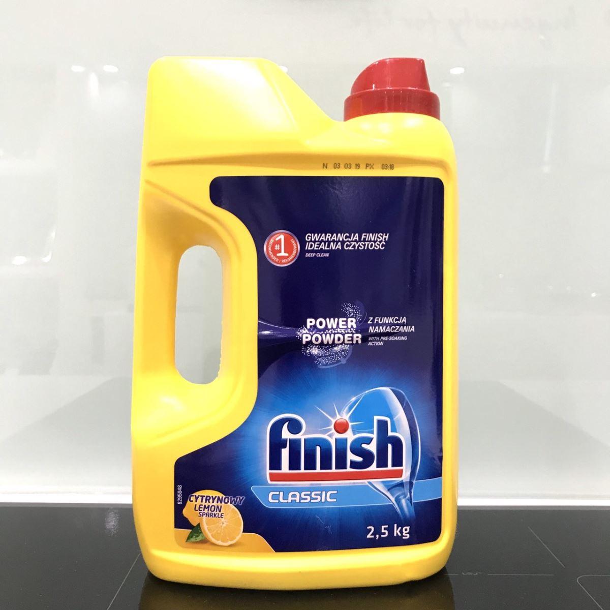 Bột rửa bát Finish Classic 2.5kg