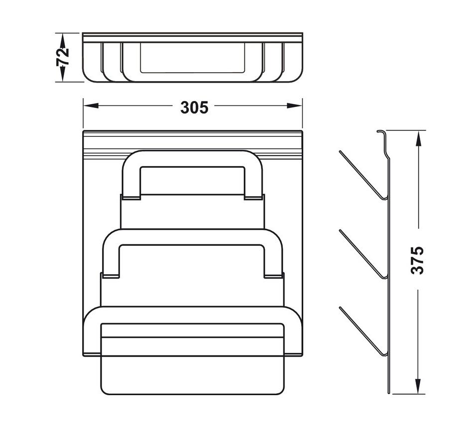 BVKT-Kệ-treo-nắp-đậy-Hafele-523.00.350