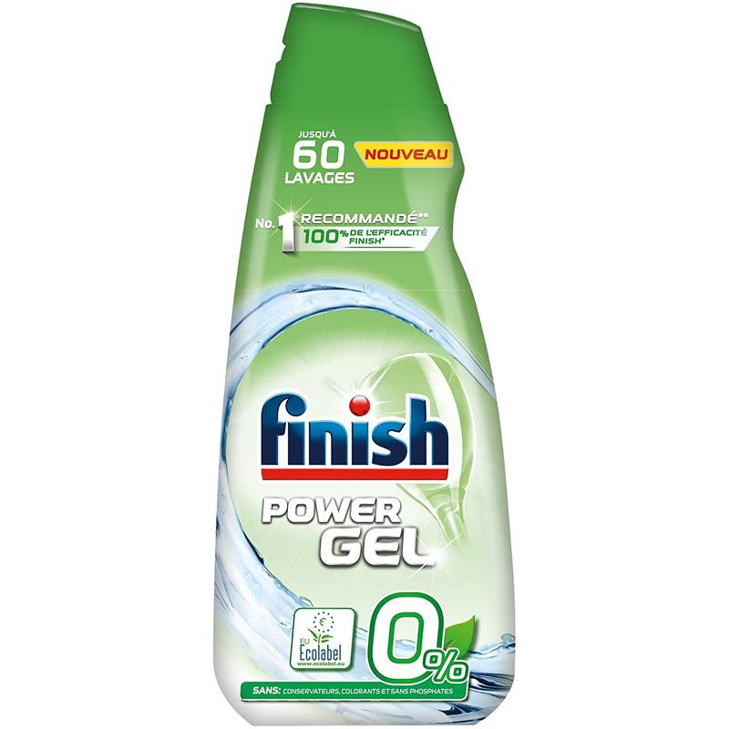 Gel rửa bát Finish All in one 0% 900ml
