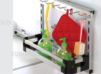 Giá đựng chai lọ tẩy rửa đáy đặc Eurogold EU0625, kệ đựng chất tẩy rửa, kệ đựng chất tẩy rửa Eurogold, phụ kiện tủ bếp, phu kien tu bep, phụ kiện tủ bếp Eurogold, phụ kiện tủ bếp tphcm, phụ kiện tủ bếp giá rẻ, phụ kiện tủ bếp chính hãng, phụ kiện tủ bếp nhập khẩu