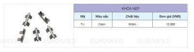 Khóa nẹp Eurogold T11, tay nắm cánh cửa Eurogold, phụ kiện tủ bếp, phu kien tu bep, phụ kiện tủ bếp Eurogold, phụ kiện tủ bếp tphcm, phụ kiện tủ bếp giá rẻ, phu kien tu bep gia re, phụ kiện tủ bếp chính hãng, phụ kiện tủ bếp nhập khẩu