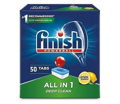 Viên rửa bát Finish All In One 50 viên