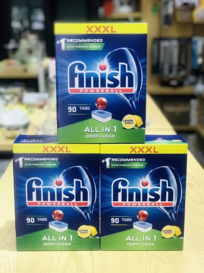 Viên rửa bát Finish All In One 90 viên