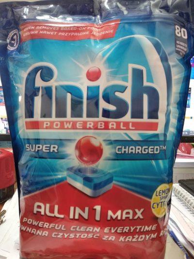 Viên rửa bát Finish All in 1 Max 80 viên
