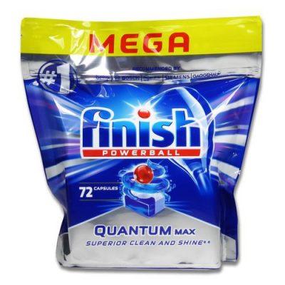 Viên rửa bát Finish Quantum Max 72 viên