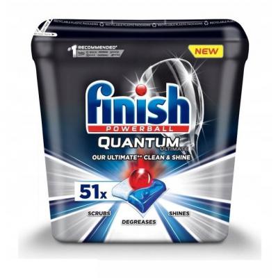 Viên rửa bát Finish Quantum Utimate 51 viên