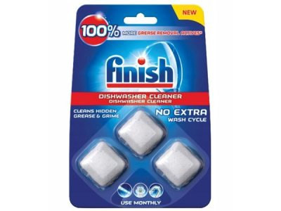 Viên vệ sinh máy rửa bát Finish - vỉ 3 viên