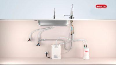 Máy lọc nước Cleansui EU301, máy lọc nước, may loc nuoc, máy lọc nước Cleansui, máy lọc nước nhập khẩu, máy lọc nước tại tphcm